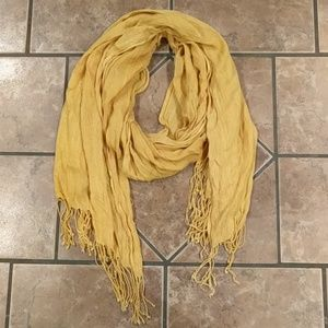 Medallion Yellow Scarf